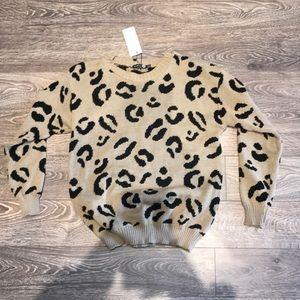 Boohoo Leopard Sweater